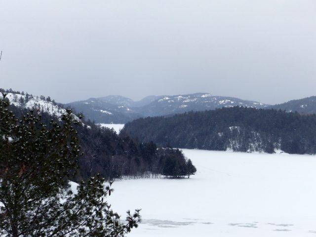 Frozen Lake- Bearskin Lodge