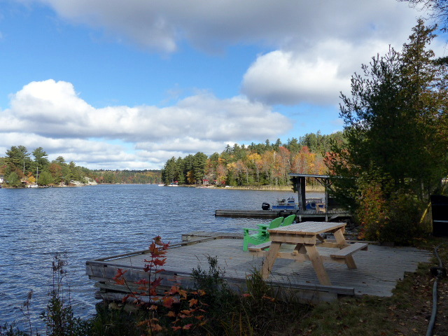 lake view Bearskin Lodge
