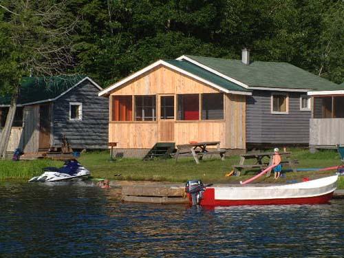 beachview cabin Bearskin Lodge