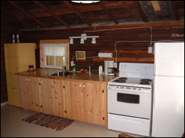 Fisherman Kitchen Bearskin Lodge