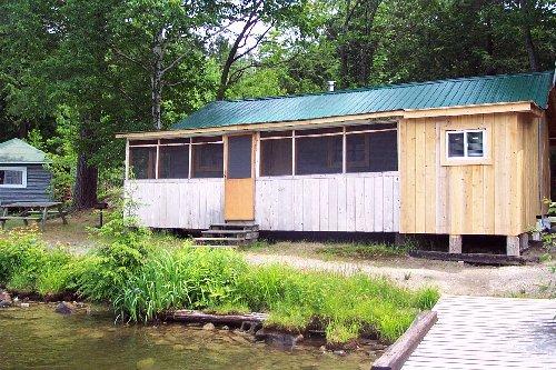 Partridge Nest cabin Bearskin Lodge
