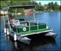 Pontoon Boat - Bearskin Lodge